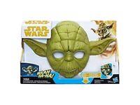 Star Wars Electronic Yoda Mask