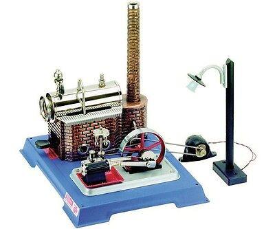 Wilesco D 105 Dampfmaschine Electric Light Edition Neu