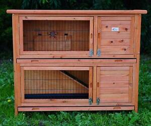 XLL GIANT DOUBLE STOREY RABBIT HUTCH GUINEA PIG CAGE HOUSE Oakleigh Monash Area Preview