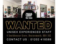 Hairdressers Full and Part time
