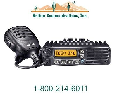 New Icom Ic-f6121d-58 Uhf 450-512 Mhz 45 Watt 128 Channel Idas Two Way Radio