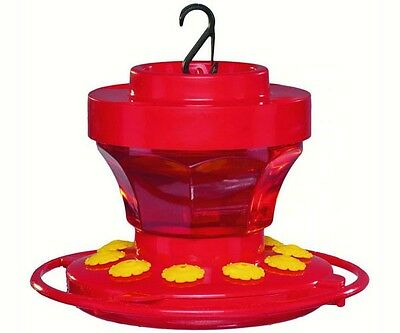 FIRST NATURE 16 oz HUMMINGBIRD FLOWER FEEDER, #3091, Made in the USA