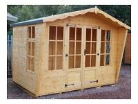 10ft x 6ft Summer House with Opening Windows