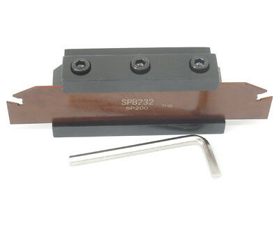 Spb232 Spb32-2mm Grooving Parting Blade Smbb2032 Cut Off Block Tool Holder