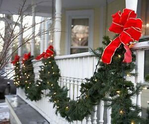 ****BEAUTIFUL QUALITY LOOKING CHRISTMAS GARLAND**** $15.00 each Stratford Kitchener Area image 1