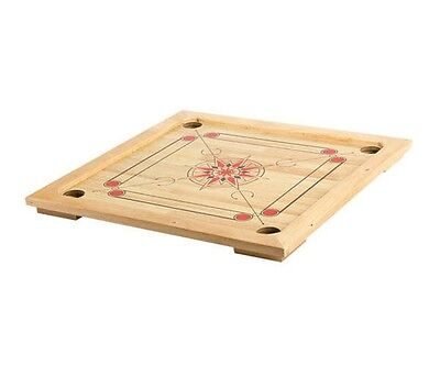 26 Inch Wooden Carrom Board Game with Coins & Striker  (Carrom Striker)