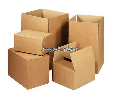 20 SINGLE Wall 12x9x5 Cardboard Mailing Gift Postal Perfume Boxes shipping large