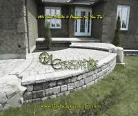 Landscaping,Interlock,Natural Stone,New Lawns,Grading,Gardens