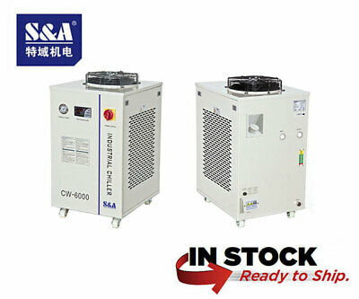 Genuine Sa Cw-6000dh Industrial Water Chiller 110v 5060hz - Usa Stock