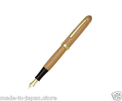 Platinum 3776 Japanese Yakusugi Yaku-Sugi Wooden Fountain Pen