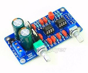 NE5532 Low-pass Filter Subwoofer Process Circuit Frequency Volume For Amplifer