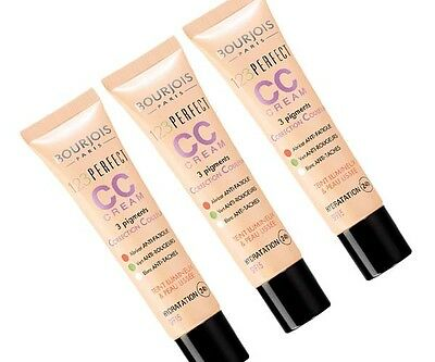 BOURJOIS 123 PERFECT CC CREME COLOUR CORRECTING CREAM 30