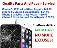 iPhone Cracked Screen Repair At The Best Prices Anywhere...