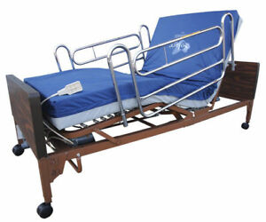 New & Used - Fully Electric Hospital Bed With Mattress & Rails