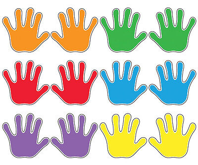 Handprints Classroom Display Accents Variety Pack - Ideal for School Use