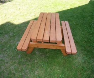 Location de table à picnic