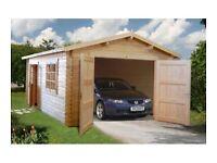 3.6m x 5.5m Garage