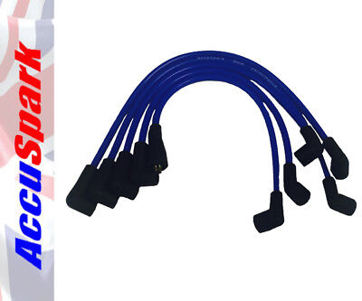 AccuSpark 8mm Blue Silicone High Performance HT Leads for All Hillman IMPs