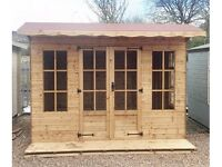 10ft x 8ft 15mm T&G Exterior Laura Summer House