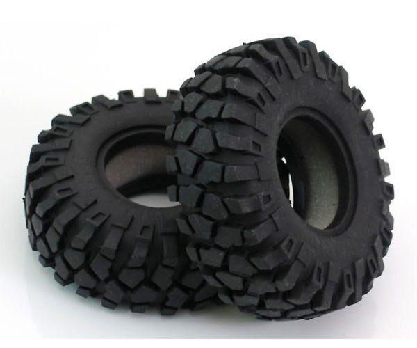 "Z-T0052 NEW RC4WD Rock Crusher X//T 1.9/"" RC Rock Crawler Tires w//Foam Inserts"