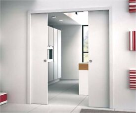 Eclisse Unico DD Pocket Door Kit For A Double Door (100mm/125mm Wall Thickness) NO Lining Kit