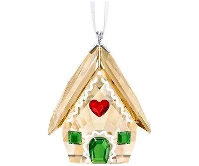 Cristal de Swarovski Jengibre Casa Ornamento #5395977 Marca Punta Navidad F /...