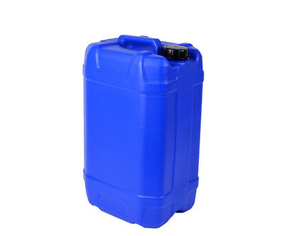 9 X 20 LITRE 20L BLUE NEW PLASTIC BOTTLE JERRY CAN WATER CONTAINER CARRIER