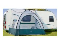 Royal Ultra Porch Caravan Awning with handy storage bag. Compact and quickly assembled.
