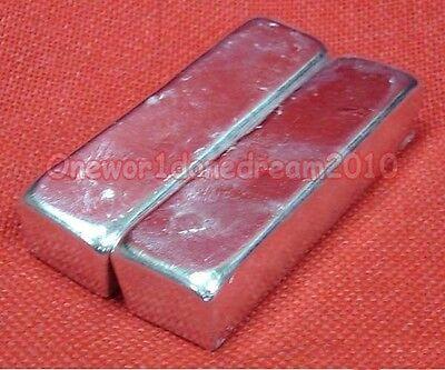 1000g 1kg 2.2 Lbs High Purity 99.995 Pure Indium In Metal Bar Block Plate Ingot