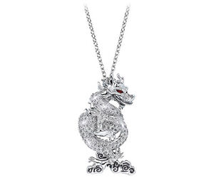 SWAROVSKI COLLECTORS SOCIETY DRAGON PENDANT NEW IN BOX