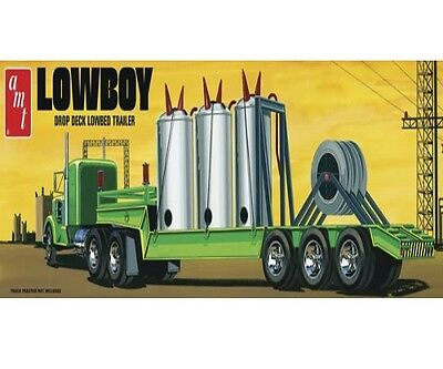 AMT AMT880 1/25 Lowboy Trailer Plastic Model Kit