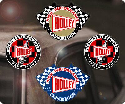 4x Stück Holley Sticker Aufkleber Vergaser Autocollante Hot Rod Hemi Mopar V8 S1 gebraucht kaufen  Tespe