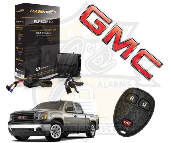 2008-2013 GMC Sierra Truck Plug & Play Remote Start System Chevrolet GM GM10