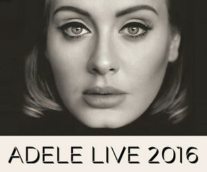 Adele Live 2016 Tour tickets