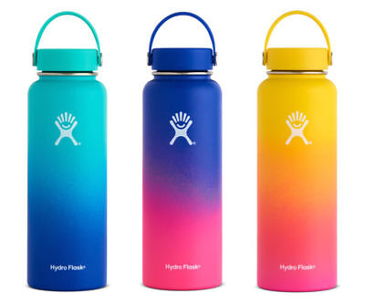 Hawaii Exclusive Multi Color 40 Oz Wide Mouth Hydro Flask