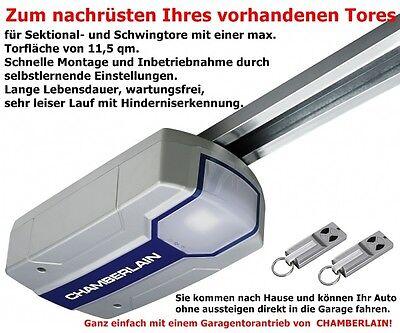 Chamberlain Garagentorantrieb ML700EV 2Handsender mit Schiene für Hörman Tore