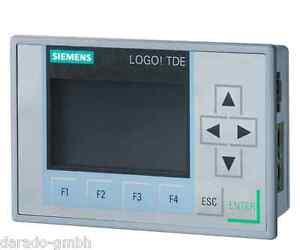 SPS-Displayerweiterung 8 Siemens LOGO! TD Textdisplay 0BA1 6ED1055-4MH00-0BA1