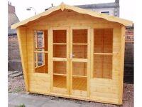 8ft x 6ft 19mm Log Exterior Lomond Summerhouse