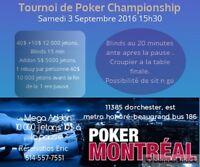 Tournoi de Poker Montreal-est