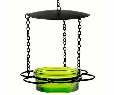 Couronne Co Lime Hanging Floral Bird Feeder COURM44620001