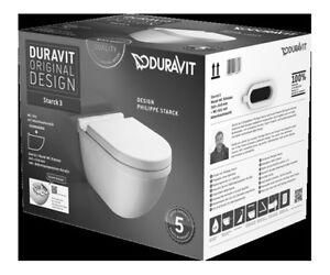 Duravit Starck 3 WC Klo Set Kombipack rimless WC + Deckel mit Absenkautomatik