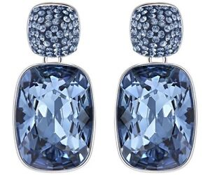Swarovski Sapphire Crystal Earrings