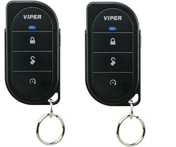 Viper 7146V x2 TWO 1-Way 4 Button Replacement Remote Control