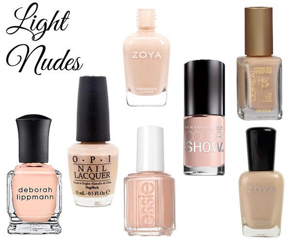 Best Nail Color For Dark Skin Tone: Best Nude Nail Polish For Light, Medium & Dark Skin Tones
