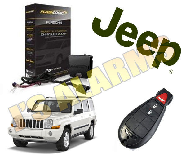 Uses OEM Remotes Add-on Remote Start w//T-Harness For 2006-2007 Jeep Commander