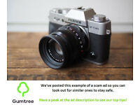 Fujifilm XT20 -- Read the ad description before replying!!
