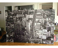 Grand canvas Ikea de New-York