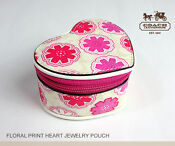 Coach Travel Jewelry Box