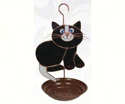 Gift Essentials Black Cat Bird Feeder