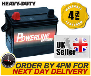 Mower Battery Powerline Premium 896 12V 32AH MINI TRACTOR MOWERS, RIDE ON MOWER